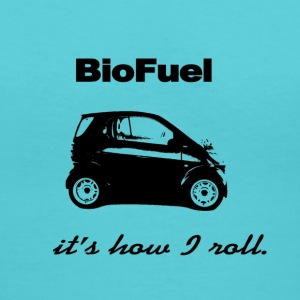 Biofuel - It's How I Roll - Women's V-Neck T-Shirt
