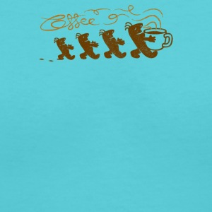 aroma of coffee - Women's V-Neck T-Shirt