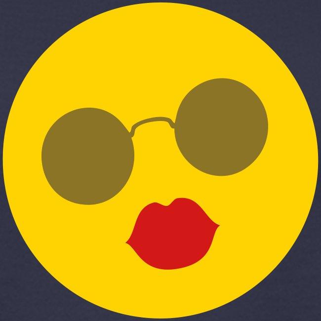 Sunshine Kiss Round Glasses