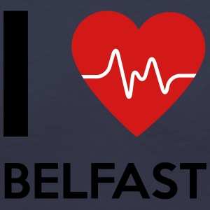 I Love Belfast - Women's V-Neck T-Shirt