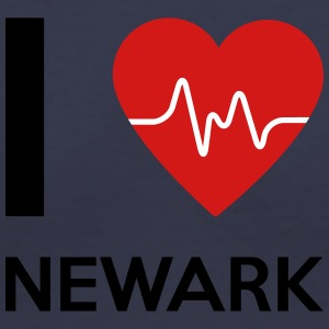 I Love Newark - Women's V-Neck T-Shirt