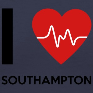 I Love Southampton - Women's V-Neck T-Shirt