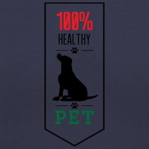 100 Healthy pet - Women's V-Neck T-Shirt