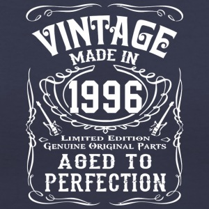 Made in 1996 Birthday Gift Tee - Women's V-Neck T-Shirt