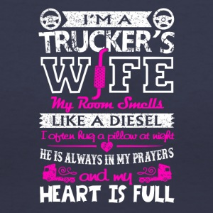 I'm A Trucker's Wife T Shirt - Women's V-Neck T-Shirt