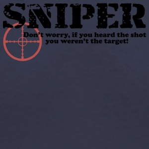 Sniper Hear - Women's V-Neck T-Shirt