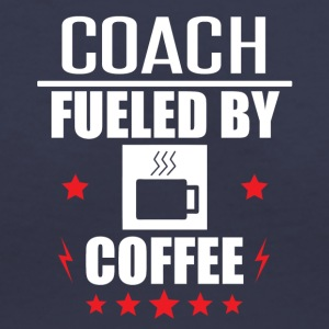 Coach Fueled By Coffee - Women's V-Neck T-Shirt