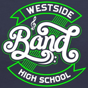 WESTSIDE HIGH SCHOOL - Women's V-Neck T-Shirt
