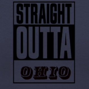 STRAIGHT OUTTA OHIO - Women's V-Neck T-Shirt