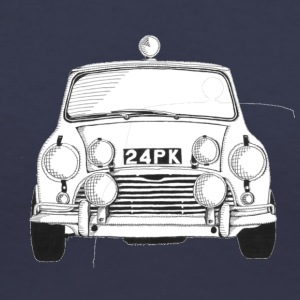 Mini Cooper - Women's V-Neck T-Shirt