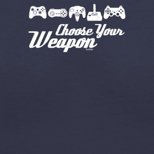 Choose Your Weapon Game - Women's V-Neck T-Shirt