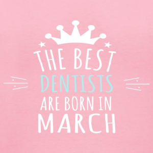 Best DENTISTS are born in march - Women's V-Neck T-Shirt