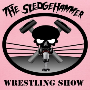The Sledgehammer Wrestling Show - Women's V-Neck T-Shirt