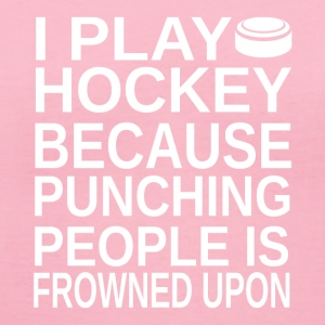 Ice Hockey-I play-cool gift shirt,hoodie,tank top - Women's V-Neck T-Shirt