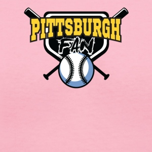 pittsurgh baseball shirt - Women's V-Neck T-Shirt
