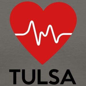 Heart Tulsa - Women's V-Neck T-Shirt