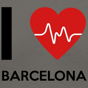 I Love Barcelona - Women's V-Neck T-Shirt
