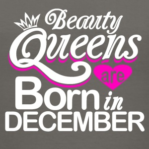 Beauty Queens Born in December - Women's V-Neck T-Shirt