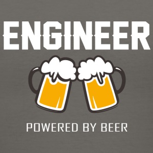 Engineer powered by beer T Shirt - Women's V-Neck T-Shirt