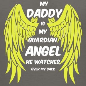 My Daddy Is My Guardian Angel T Shirt - Women's V-Neck T-Shirt