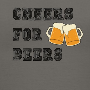 CHEERS FOR BEERS - Women's V-Neck T-Shirt