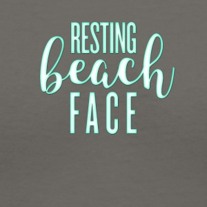 RestingBeachFaceAmazon - Women's V-Neck T-Shirt