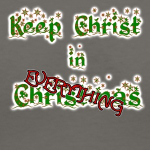 Keep Christ in EVERYTHING - Women's V-Neck T-Shirt