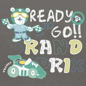 READY_GO - Women's V-Neck T-Shirt