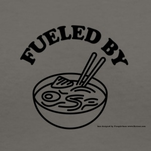 Fueled by RAMEN! - Women's V-Neck T-Shirt