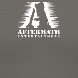 Aftermath Entertainment Rap Label - Women's V-Neck T-Shirt