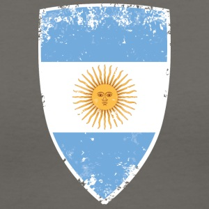 Flag of Argentina - Women's V-Neck T-Shirt