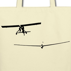 glider pilot with tow pilot - Eco-Friendly Cotton Tote