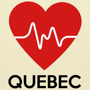 Heart Quebec - Eco-Friendly Cotton Tote