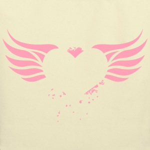 Heart with Wings - Eco-Friendly Cotton Tote