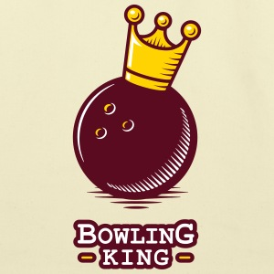 Bowling King - Eco-Friendly Cotton Tote