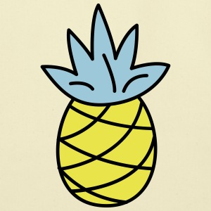 retro pineapple - Eco-Friendly Cotton Tote