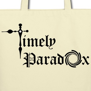 Timely Paradox - Eco-Friendly Cotton Tote