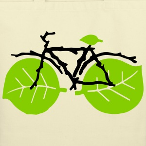 nature bicycle - Eco-Friendly Cotton Tote