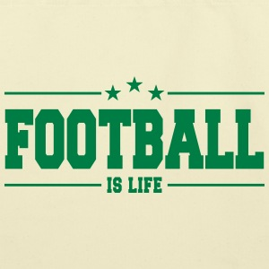 Football is life 1 - Eco-Friendly Cotton Tote