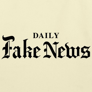 DAILY Fake News - Eco-Friendly Cotton Tote