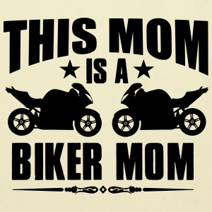 Biker mom - Eco-Friendly Cotton Tote