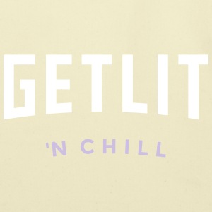 GET LIT 'N CHILL - (Netflix feel) - Eco-Friendly Cotton Tote