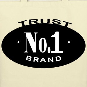 Trust No 1 - Eco-Friendly Cotton Tote