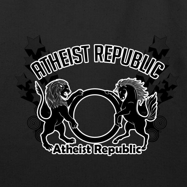 Atheist Republic Logo - Shooting Stars