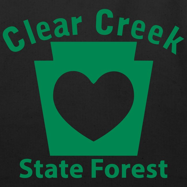 Clear Creek State Forest Keystone Heart