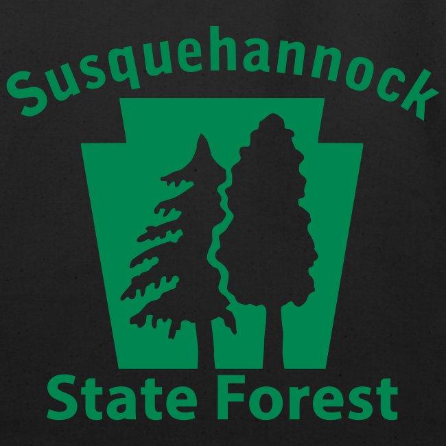 Susquehannock State Forest Keystone (w/trees)