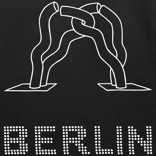 Berlin sculpture - Eco-Friendly Cotton Tote