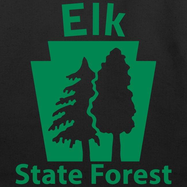 Elk State Forest Keystone (w/trees)