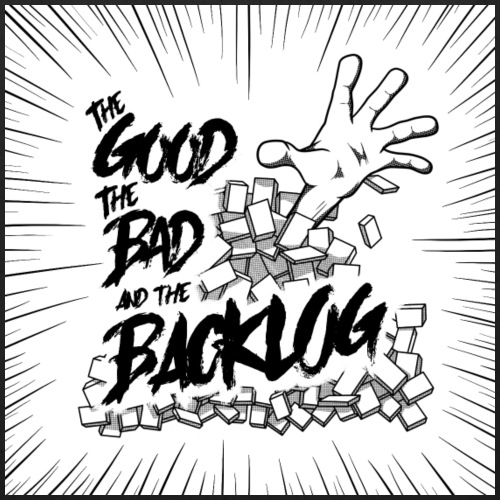 The Good, the Bad, and the Backlog - OG Logo - Eco-Friendly Cotton Tote