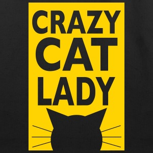 crazy cat lady - Eco-Friendly Cotton Tote
